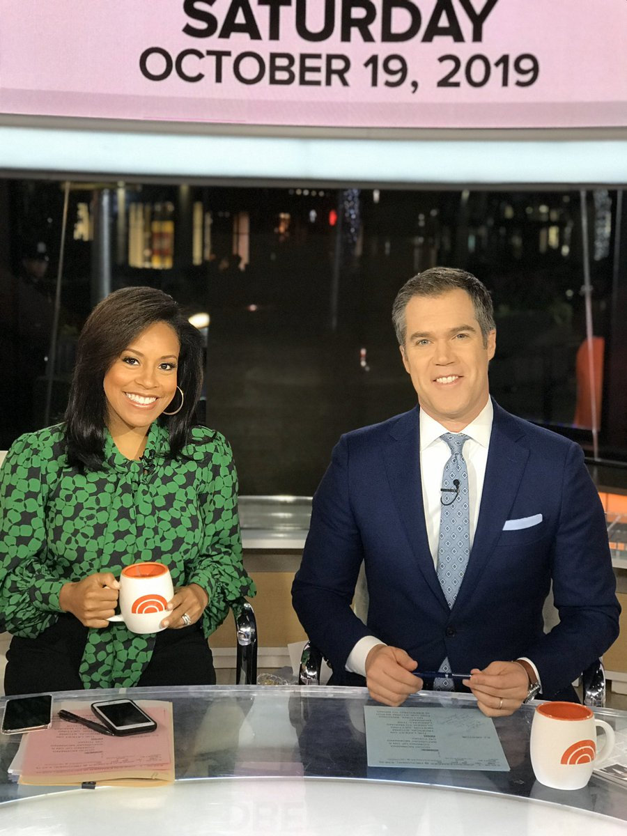 A moment before the show... up before the sun. ☀️Hope you have a great weekend! @TODAYshow