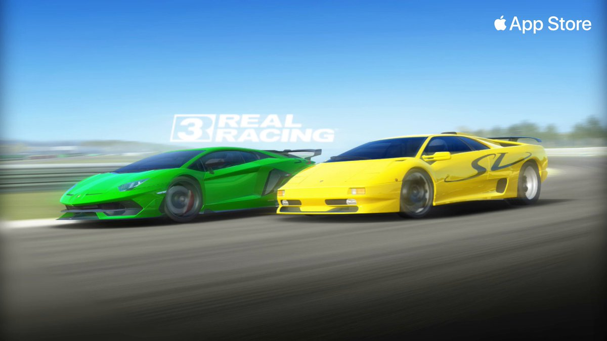 Lamborghini, mercy.The new, high-performance Lambo Aventador and the iconic Lambo Diablo will be rolling out in @realracing 3: https://t.co/8ikI0ZbMoD