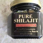 Has anyone tried #Shilajit My trendy #SantaMonica son & his wife use it instead of coffee. I like the smooth, even energy it gives me  It is supposed to help with #Alzheimer, another good reason for me. My beautiful, brilliant, Super Model Mom had it 💔