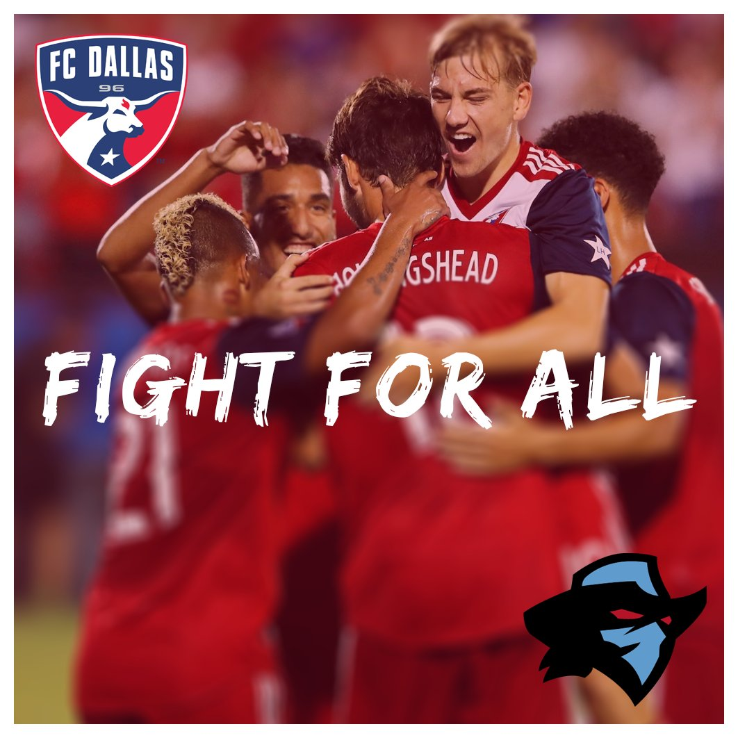 The journey begins today! Good luck to @FCDallas as they open the #MLSCupPlayoffs  against Seattle! Show 'em how we raise hell in North Texas!  #FightForAll | #DTID | #RaisingHell<br>http://pic.twitter.com/IHU0MXP198