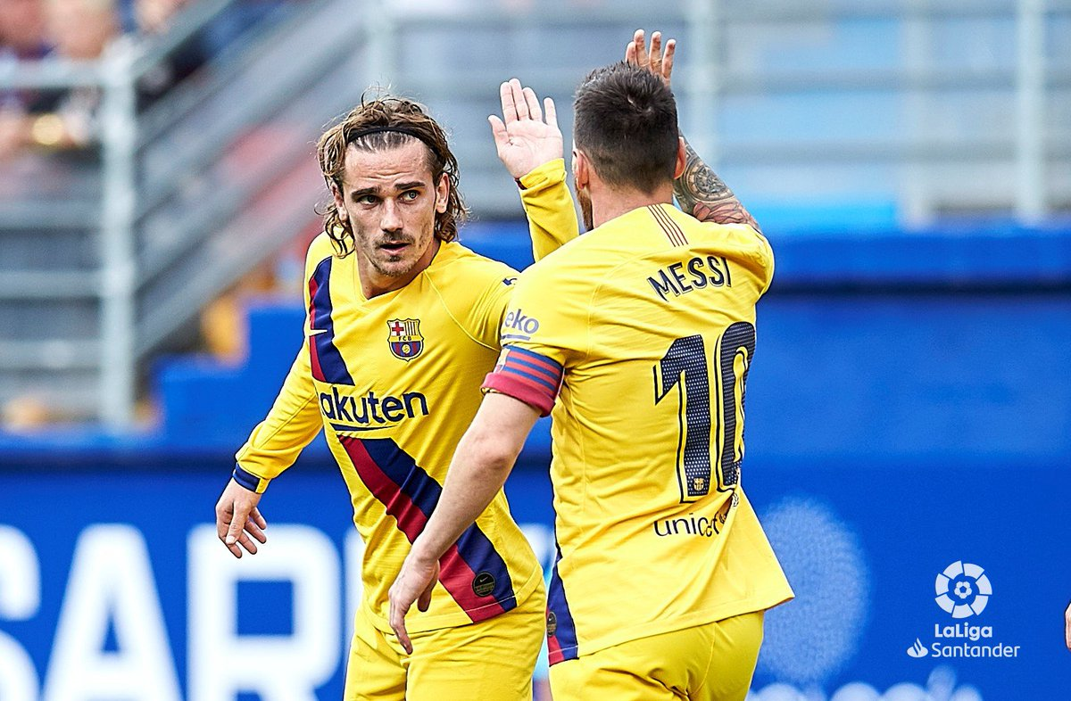 Video: Eibar vs Barcelona Highlights