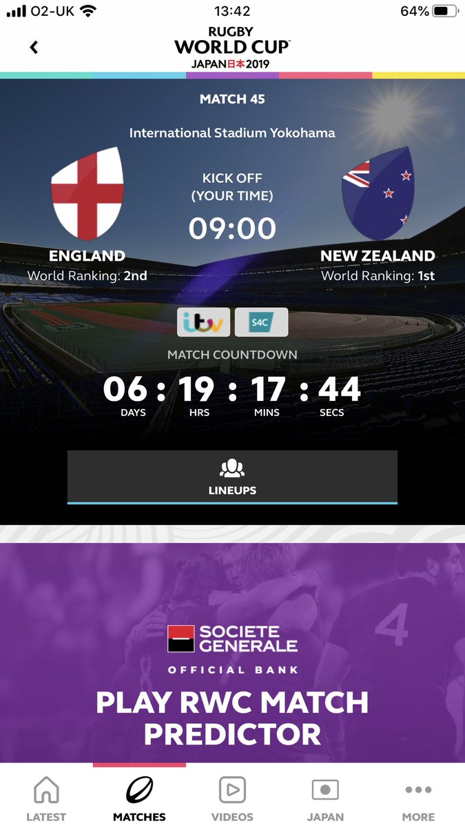 This is going to be epic! #ENGvNZ #RWC19 #SemiFinal<br>http://pic.twitter.com/axFp4FjUdl