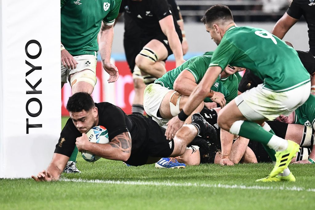 test Twitter Media - 🇳🇿  New Zealand set up a #RWC2019 semi-final clash with England after a convincing seven-try 46-14 win over Ireland at #RWCTokyo  Report: https://t.co/dgpEAkfLTQ  #NZLvIRE https://t.co/lsldz15Dim