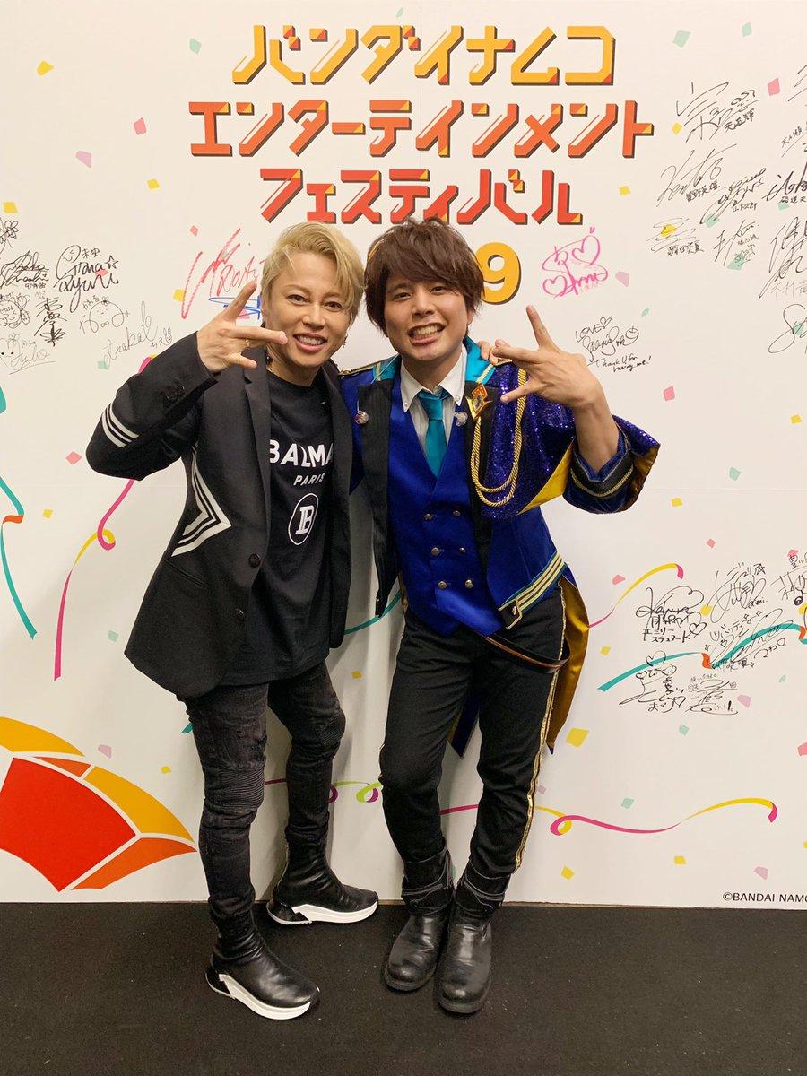 そしてそして!!!西川貴教兄貴とのコラボ!!!!!めっっっちゃ楽しかった!!!!!ドラスタの曲「ドラマチックノンフィクション」の歌とダンスまで覚えて頂いて...!本当になんて1日なんだ。。西川さんありがとうございました!!