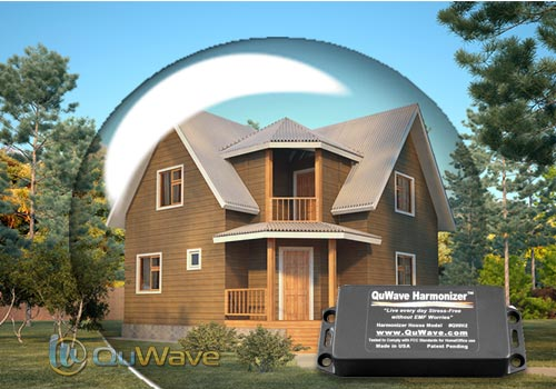 Fill your Home with a Scalar Field for improved Well-Being, and EMF Protection quwave.com #scalar #homesafe #protection #holisitchealth #emf