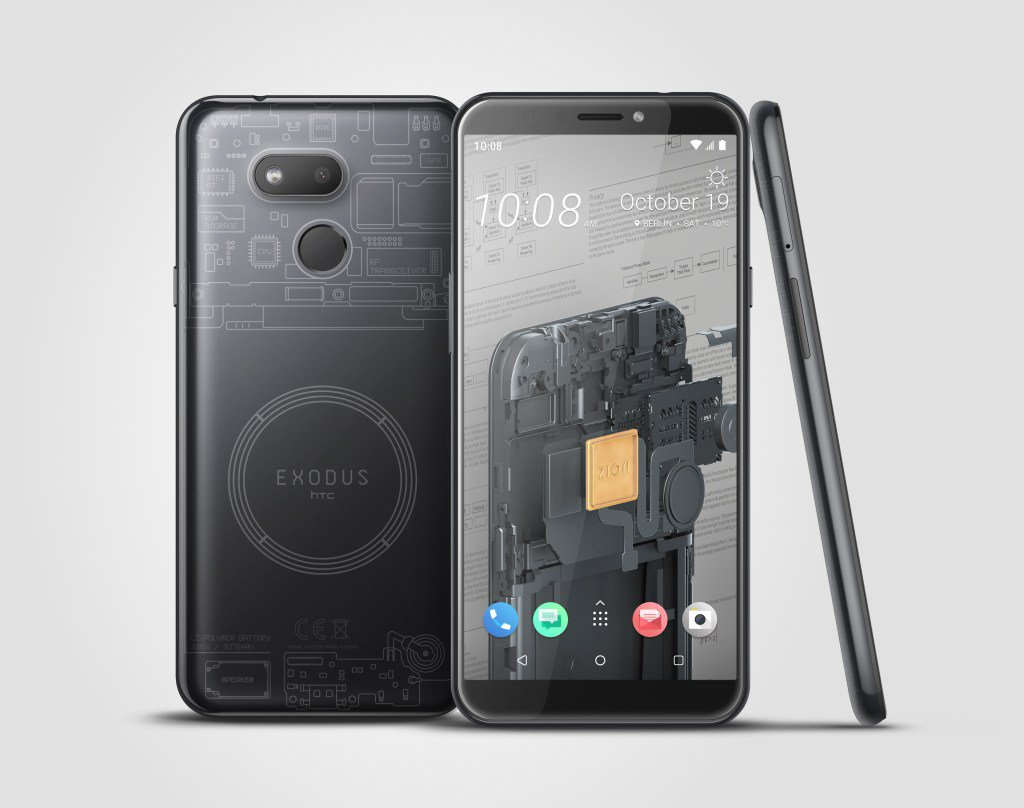 HTC releases a cheaper blockchain phone by @bheater