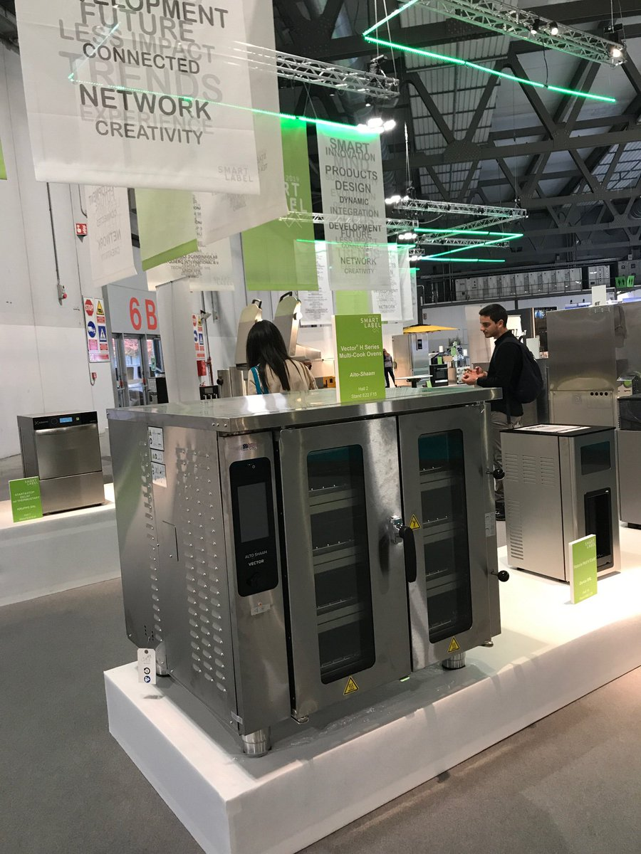 Image for The @Alto_Shaam Vector® H Series has been shortlisted for the product innovation award @HostMilano! Visit Hall 2 Stand E22 F15 for more information! #tasteofaltoshaam #Host2019 https://t.co/K