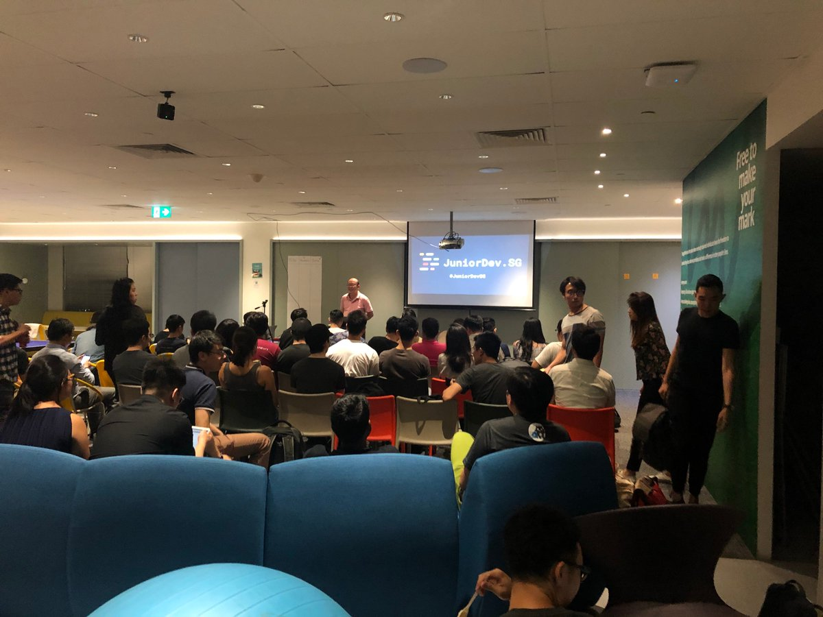 ✨ Highlights of the week: 🤓 Attended Junior Dev Social on Mon 🤓 Attended ThoughtWorks Talks Tech on Wed meetup.com/ThoughtWorks-T… 🤓 Attended @geekcamp today