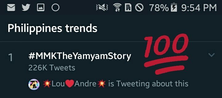TOP SPOT Nationwide! Success!  My husband & I are both teachers. Thank you MMK for honoring Yamyam's teachers in his success. Ito yung pinakamasarap na part sa pagiging teacher. Yung makita mo yung students mong nagtagumpay despite all the hardships.  #MMKTheYamyamStory | LouDre <br>http://pic.twitter.com/QLLHPxu6W8