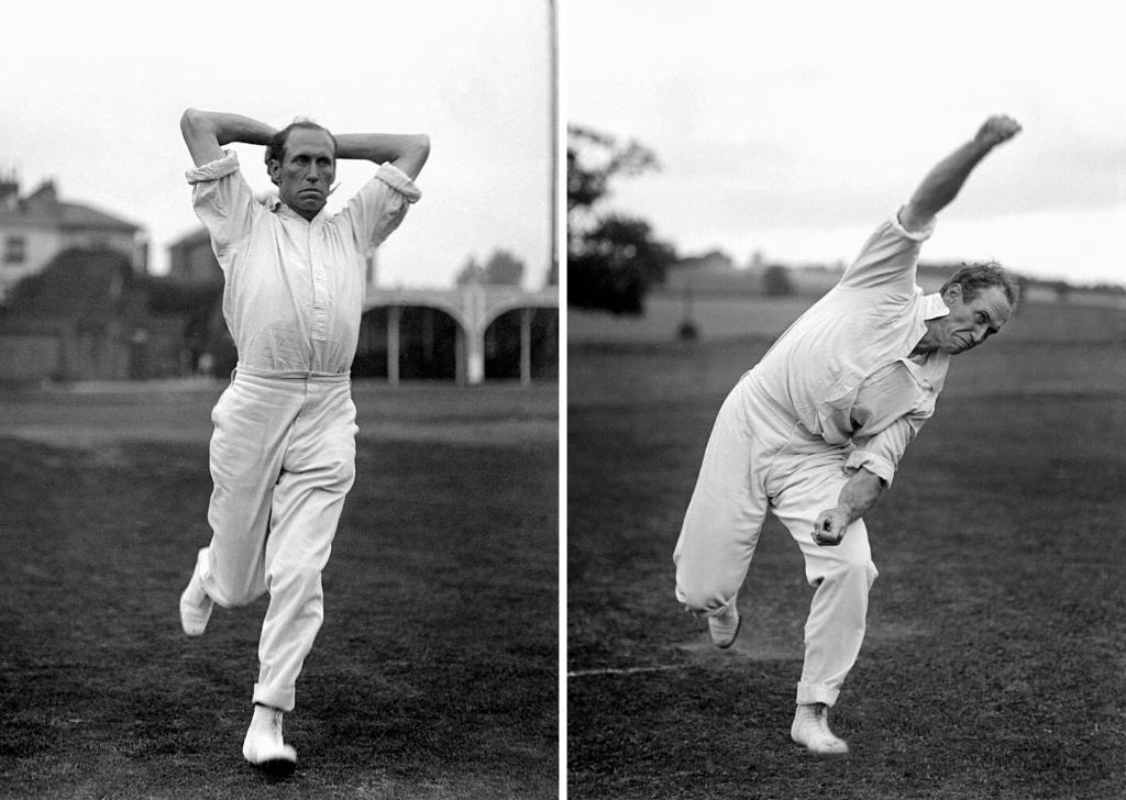 "#OnThisDay in 1873, one of USA's greatest cricketers of all time, Bart King, was born!He featured in 65 first-class games, claiming 415 wickets at an exceptional average of 15.66.His ""angler"" delivery, shown below, was notoriously difficult to face 👀"