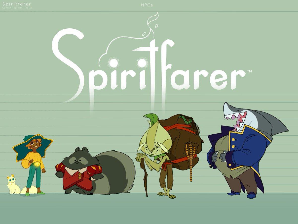 Spiritfarer: análisis Los espíritus que debemos guiar al más allá.
