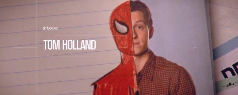 Tom Holland como Peter Parker aka Spider-Man. #SpiderManFarFromHome <br>http://pic.twitter.com/KcHNuZNGqw