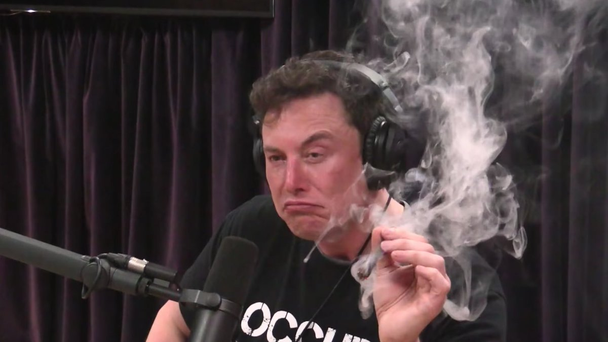 Elon Musk smoking Joe Rogan's weed somehow ended up costing taxpayers $5 million