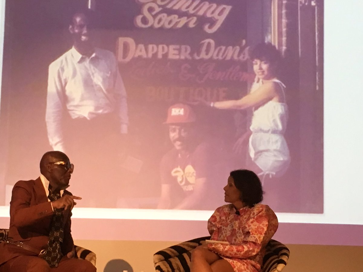 STLCC attending a conversation with the iconic Dapper Dan hosted by the Saint Louis Fashion Fund. Diversity and inclusion is the fabric of fashion!