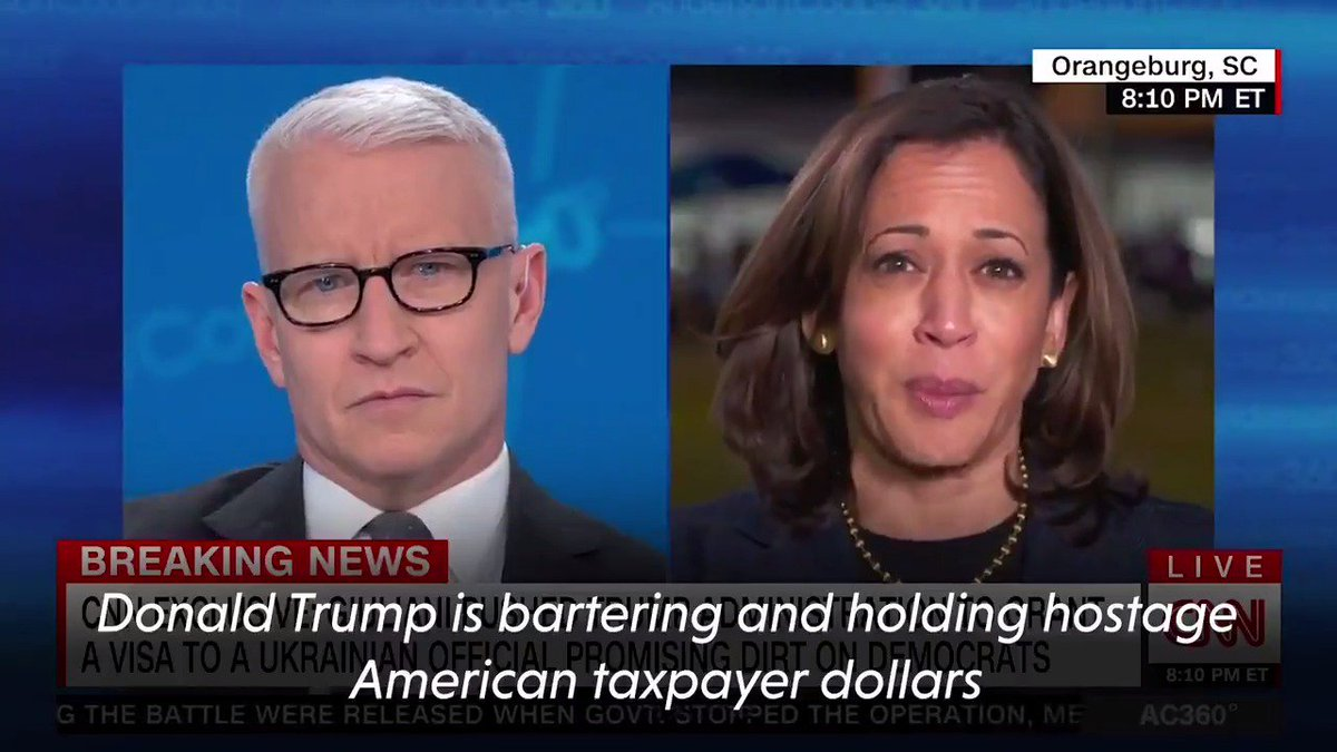 Trump is holding American taxpayer dollars hostage for his own personal and political benefit.