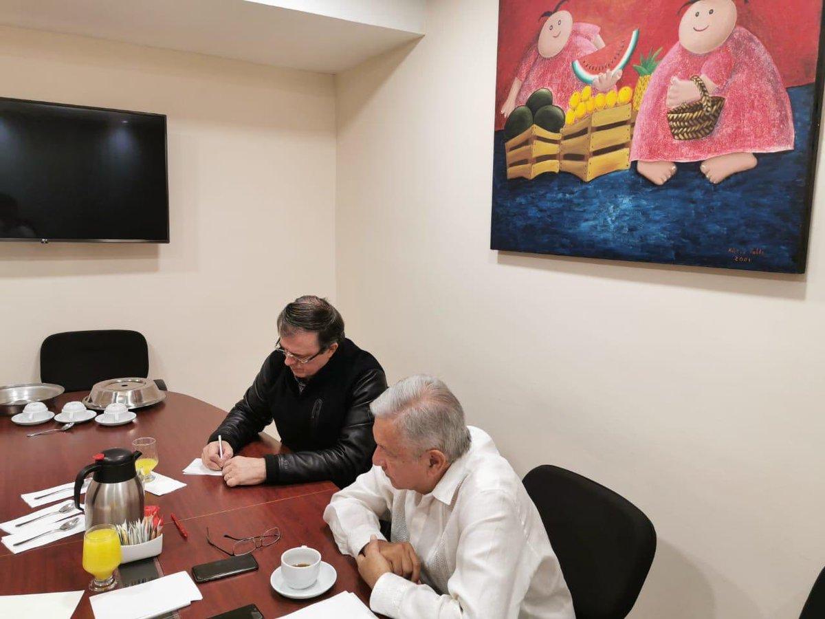 Recibí llamada del presidente Trump expresando su solidaridad por los hechos de Culiacán. Le agradezco el respeto a nuestra soberanía y su voluntad por mantener una política de buena vecindad, sustentada en la cooperación para el desarrollo y el bienestar de nuestros pueblos.