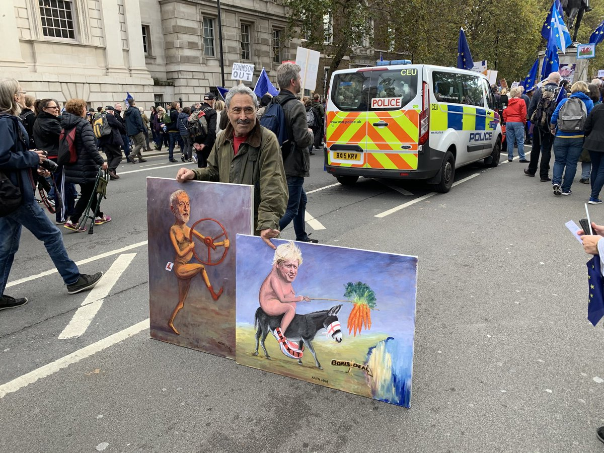 test Twitter Media - Many creative artists on the #Brexit #PeoplesVoteMarch today in London! https://t.co/nwwYYothgU