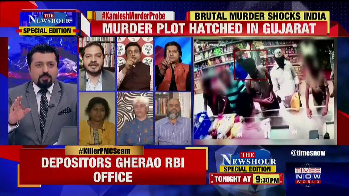 I would not condemn this killing: @abdulrazackkhan, Political Analyst tells Madhavdas G on @thenewshour Special Edition.   #KamleshMurderProbe