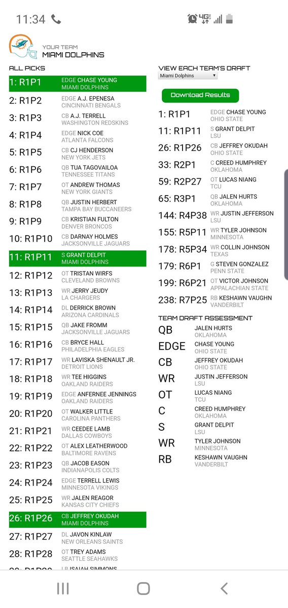 Yeah I know I know. I got tired of drafting Tua 1st and wanted to do something different.  #FinsUp    And yeah I took 3 WRs back to back to back. Flip off. Albert Wilson and DVP are gonna be cut after this season. Allen Hurns is gone and Jakeem Grant sucks. 7 or 8 day 1 starters. <br>http://pic.twitter.com/QLGqCFGm8k