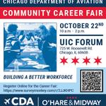 Image for the Tweet beginning: Community Career Fair: UIC Forum,