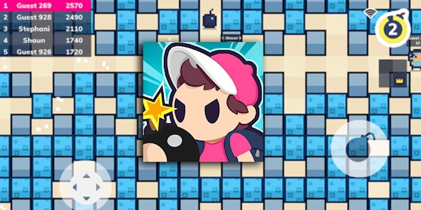 """es un """"bomberman"""" multijugador online para enfrentarte a otros de forma explosiva – Bomberman fue un gran título arcade para muchas plataformas y ahora es la fuente de inspiración para  un nuev…"""