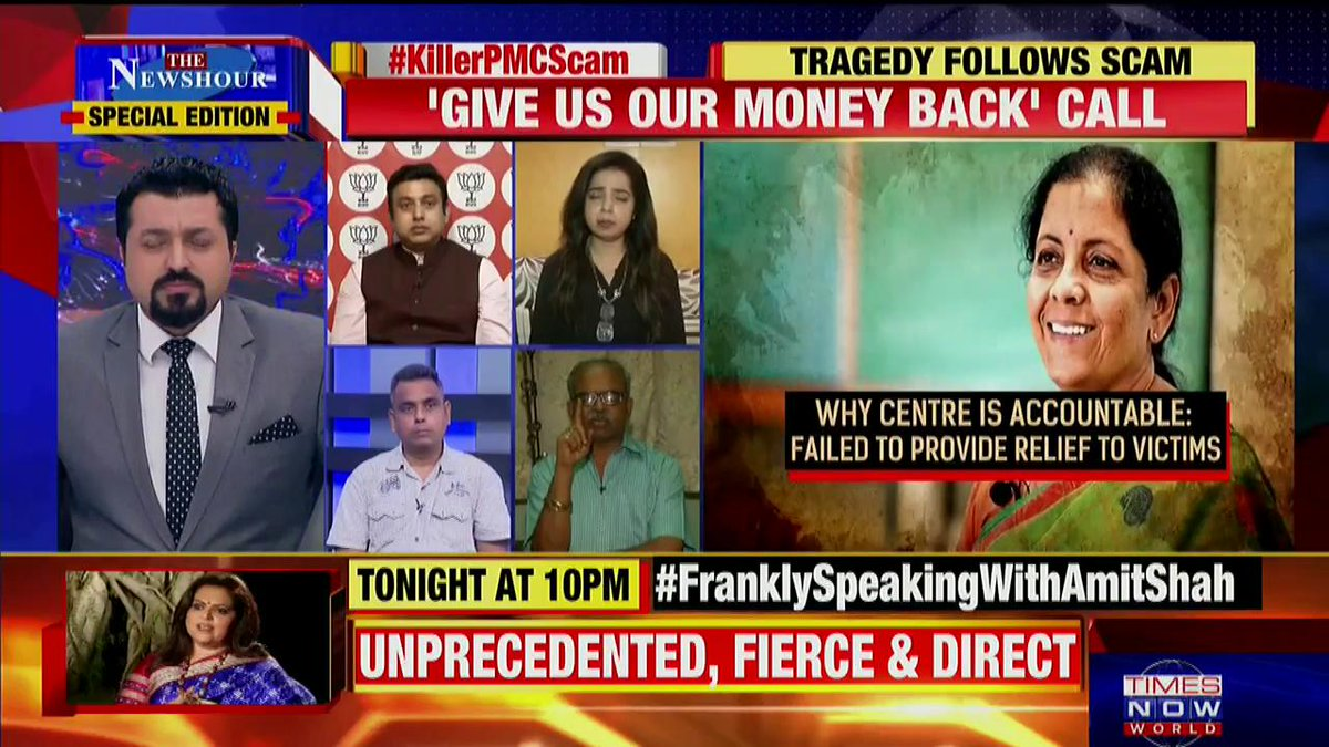 The directors of these kinds of cooperative banks are appointed by RBI: @BSundar61, PMC Bank Victim & Political Analyst tells Madhavdas G on @thenewshour Special Edition.   #KillerPMCScam