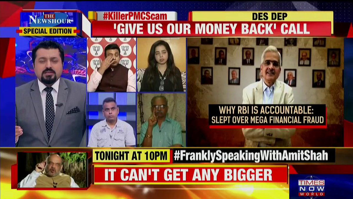 I think the Govt here is trying to definitely put in some efforts: @rajalakshmij, Blogger tells Madhavdas G on @thenewshour Special Edition.   #KillerPMCScam