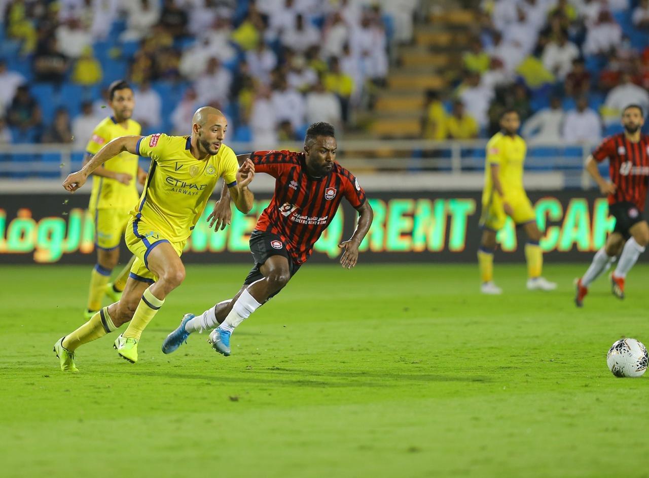 النصر يهزم مُضيفه فريق الرائد بثنائية نظيفة ضمن منافسات الجولة السابعة من كاس الامير