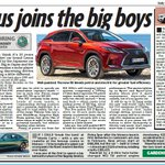 Will you celebrate 30th anniversary of upmarket @Lexus @LexusUK with improved new 5th generation hybrid RX SUV? Read in print and online @DailyMailUK @MailOnline @LexusPR @ScottMBrownlee @MotoClark @ericahaddon #Lexus #SUV #hybrid https://t.co/FCzCuA2AC8 … via @MailOnline