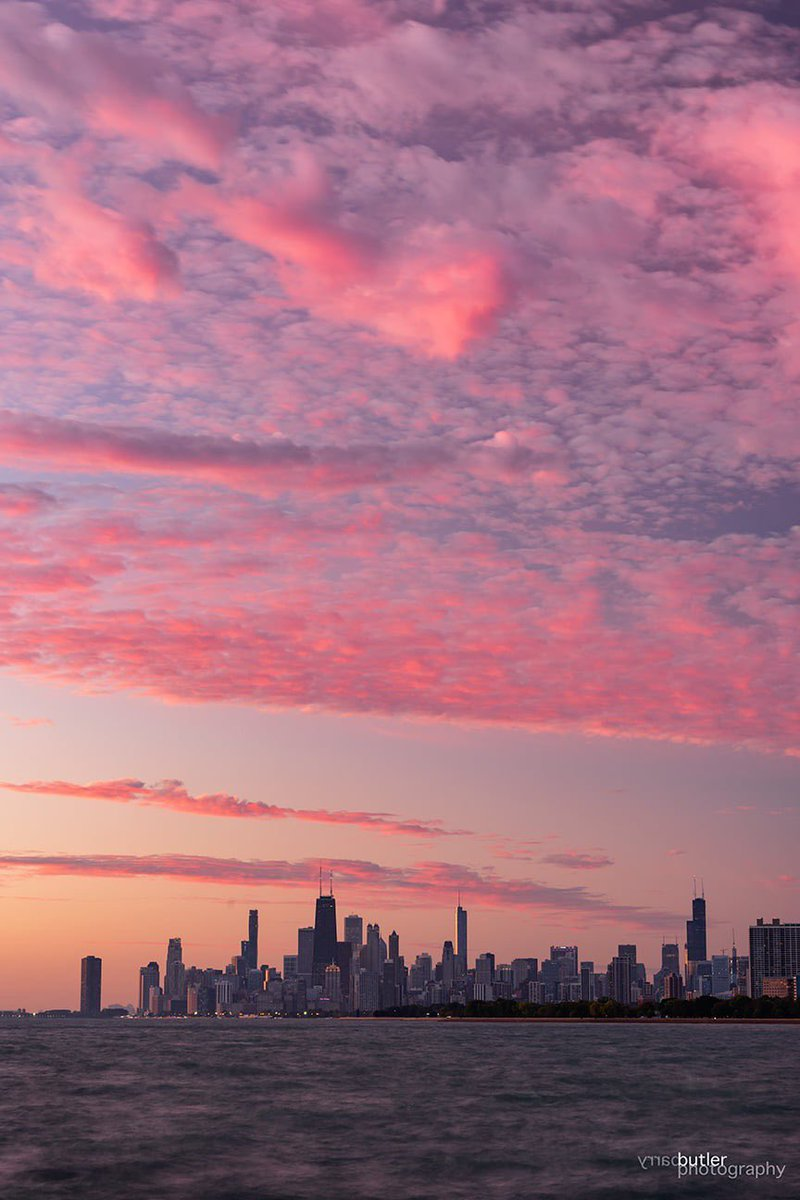 Cotton Candy Chicago Saturday Sunrise<br>http://pic.twitter.com/YErDx2EbSH