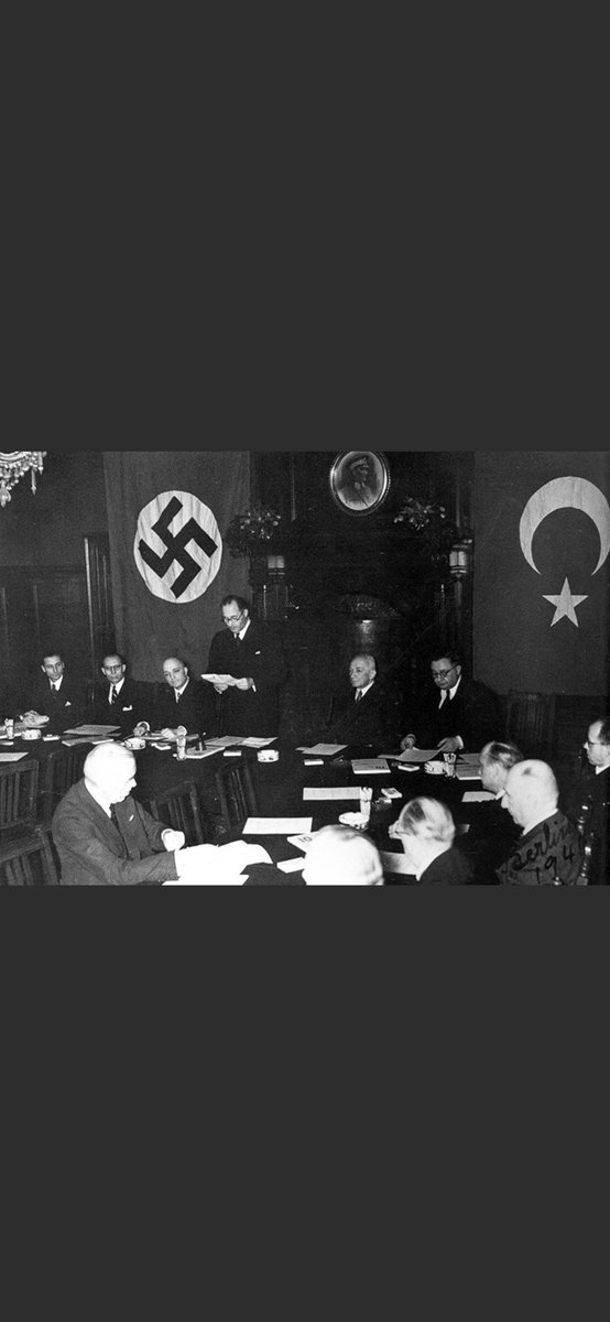 Ankara 1941: Signing the Turkish-German Treaty of Friendship. Nazi rejimleri el ele... Spread the photo so citizens of the world know who did what and when! <br>http://pic.twitter.com/rtgOU49wn4