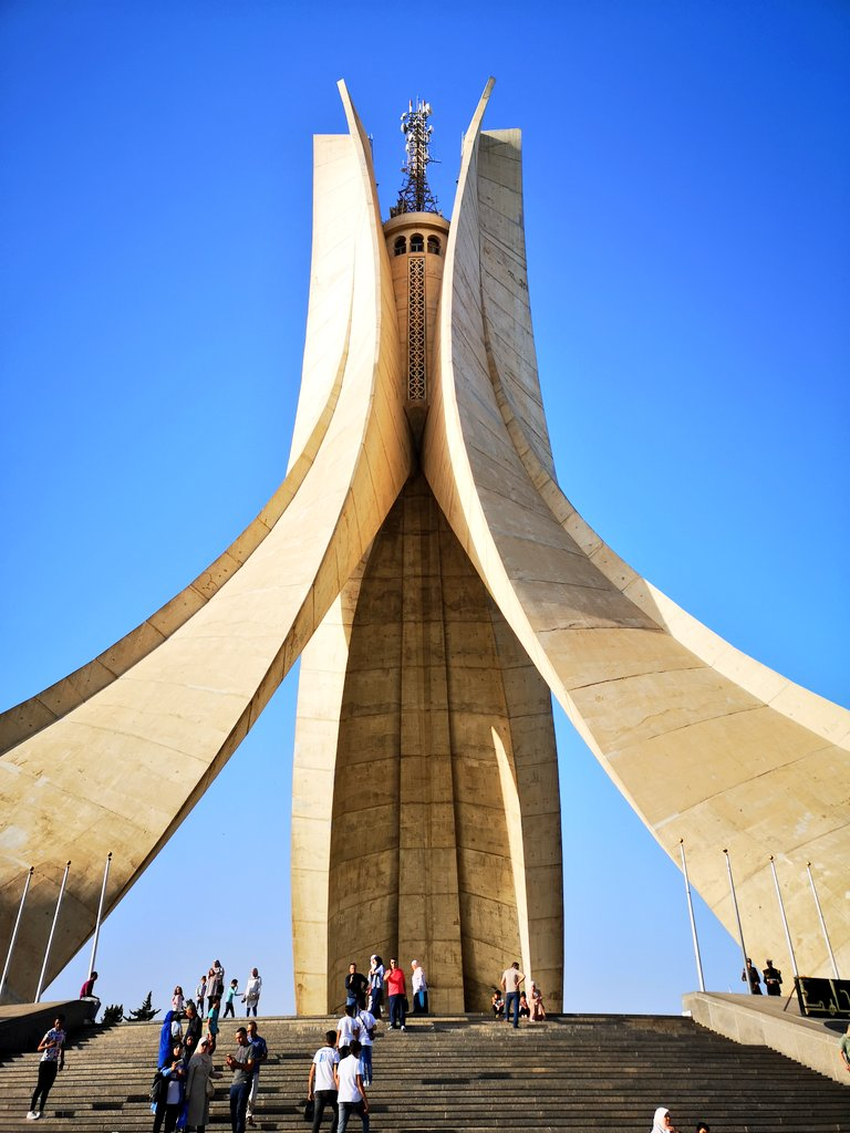 Memorial to the Martyrs, #Algiers #Algeria #Algerie <br>http://pic.twitter.com/ct6QBcmzt4