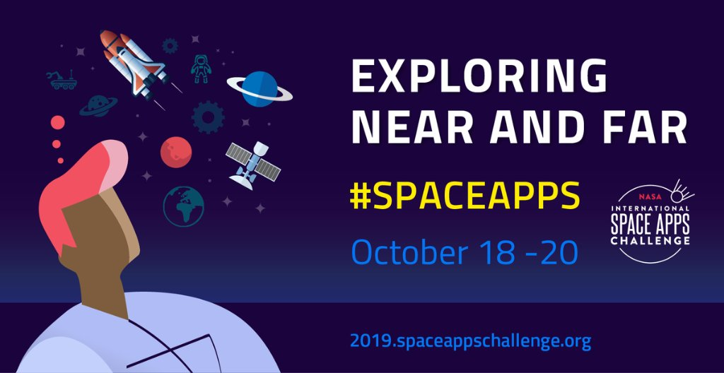 Happening this weekend: our @SpaceApps Challenge, the world's largest global hackathon! 🌎💡 Discover how you can participate by using our data to solve real-world challenges on Earth and in space: go.nasa.gov/2P2r82o