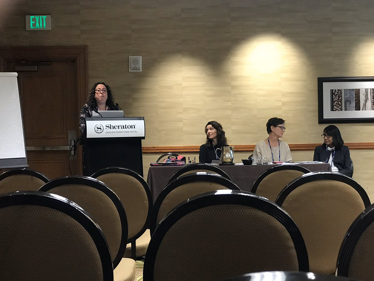 Excited to hear more about the SAVE-PD project by the #apdim council #apdimfall19 and #womeninmedicine leaders and mentors @abbyCCim @LisaWillett13 #drlane #drraj
