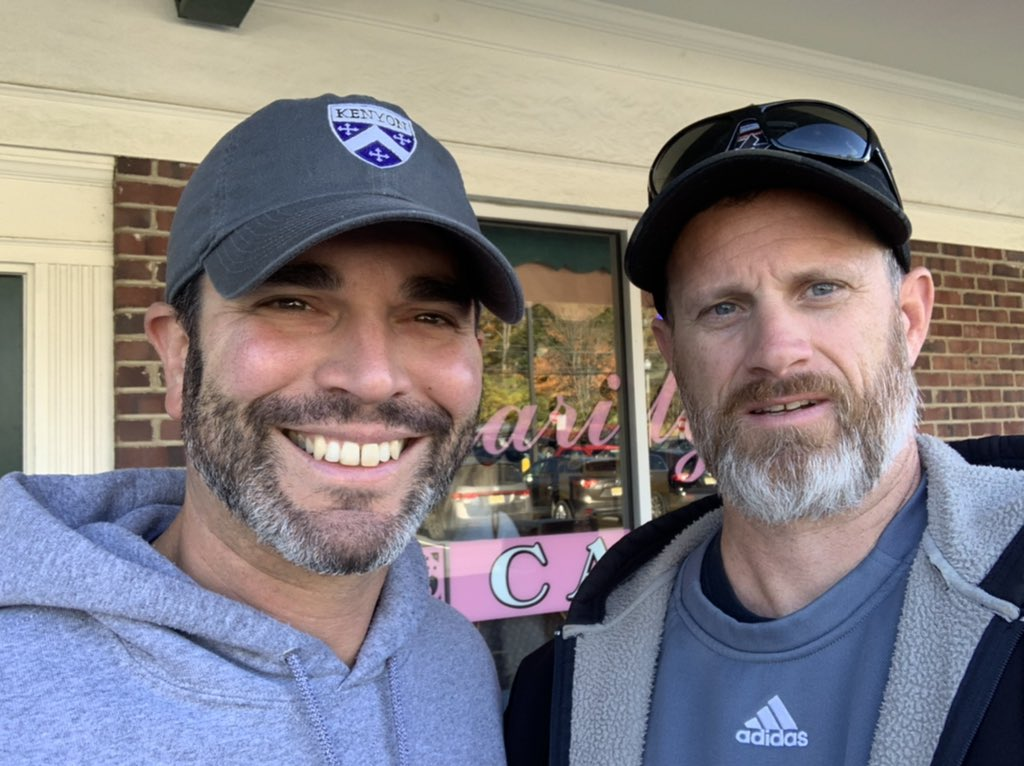 Great catching breakfast with head ball coach at @KenyonMensLax today. 7 out of last 8 years in post season for the #Lords and their best years are still ahead them. But even more impressive is their job placement after graduation. True #StudentAthletes