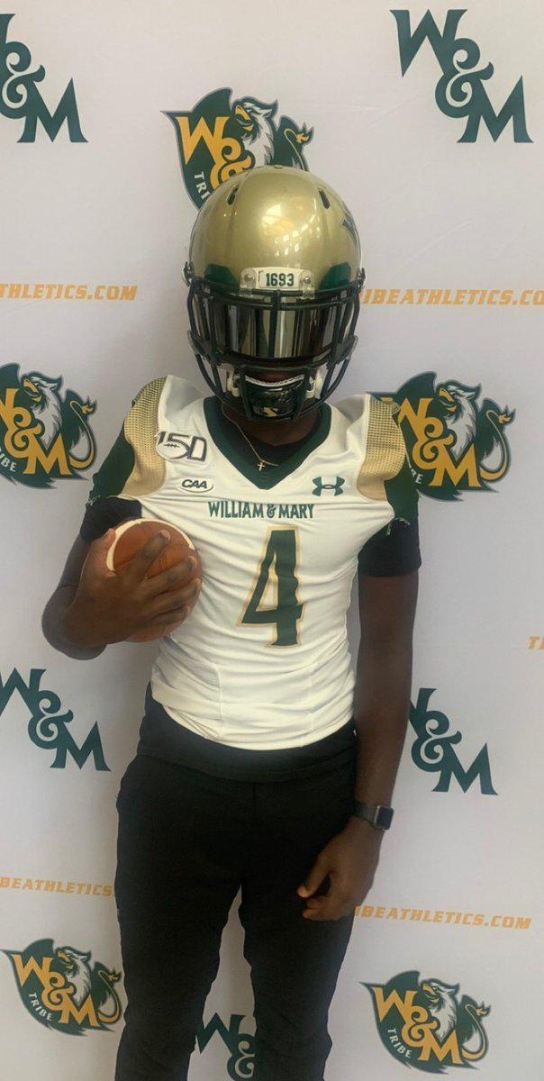 William & Mary 📍 @CoachMikeLondon @_7TRIBE7