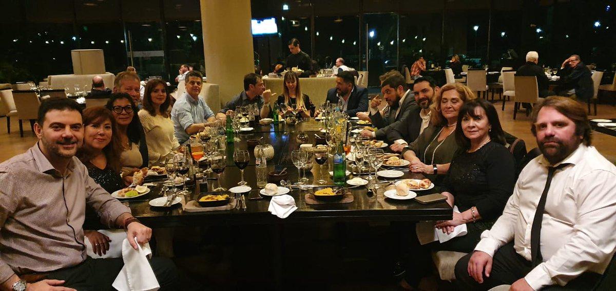 Muchas gracias por esta cena de trabajo al señor Gustavo Ricci, empresario y a demás quien colabora con nuestra Fundación desde hace ya tiempo. Que se multiplique la solidaridad!
