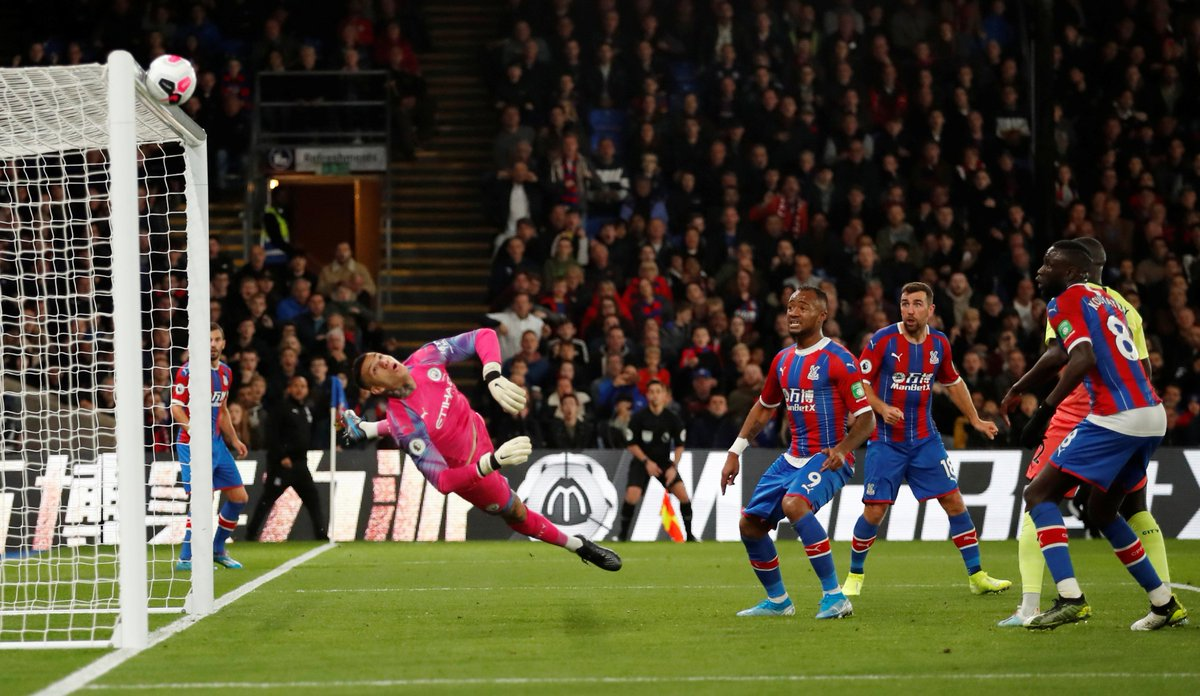 😩 What a save. #CPFC | #CRYMCI