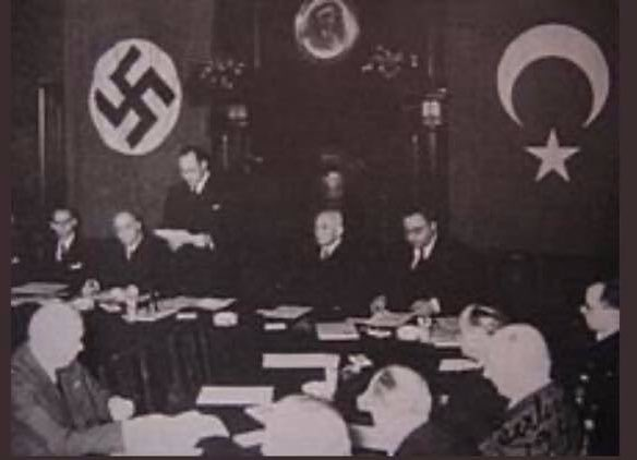 Turkey-Nazi Germany.  German nationalism stemmed from Turkish fascism.   What Nazi Germany did to the Jews, Turkey aims to do with the Kurds.  Turkey has ethnically cleansed Kurds since the founding of the state.   Ataturk was a role model for Hitler.   Turkey is not your ally. <br>http://pic.twitter.com/ZRJKrwYoAa