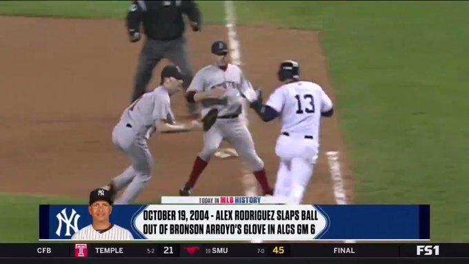 Happy birthday Bronson Arroyo! Haha! Stupid Yankees.