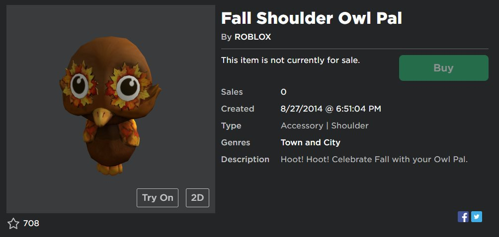 Videos Matching New Roblox Promocode Fall Shoulder Owl Pal Rocash Com On Twitter New Roblox Promocode Promocode Targetowlpal2019 Redeem Here Https T Co 6ogqcrmrx2