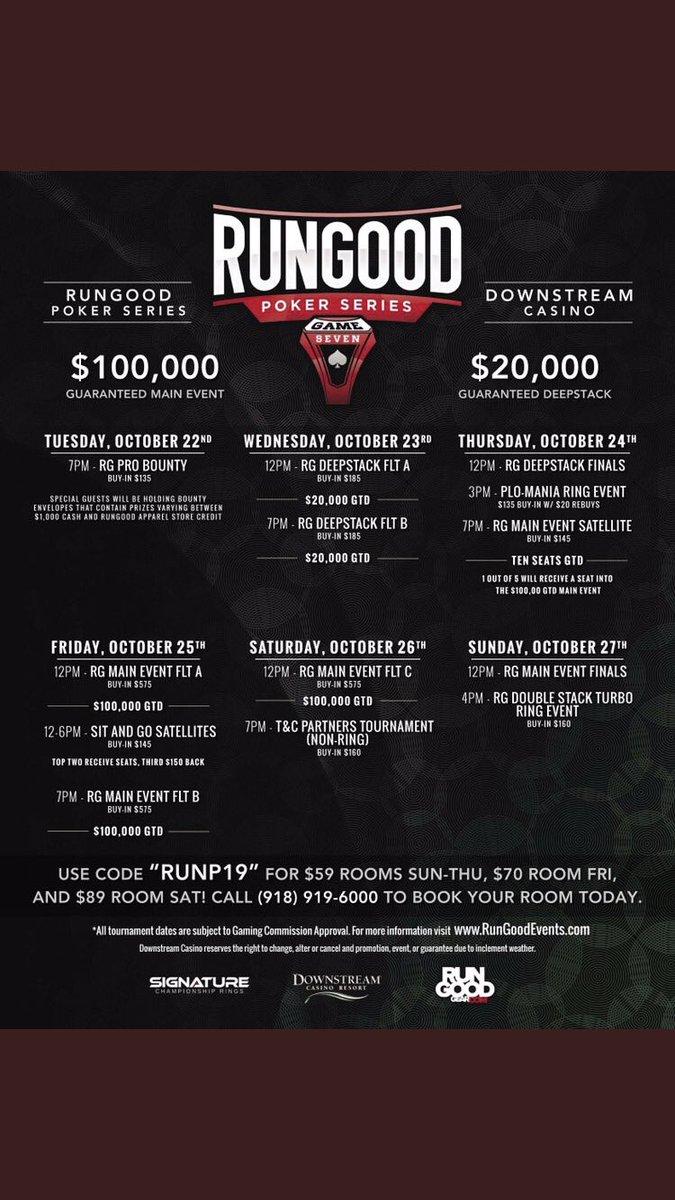 Exactly 72 hours til we kick off a fun week of poker @DCRPoker #ChampionshipRingSeason