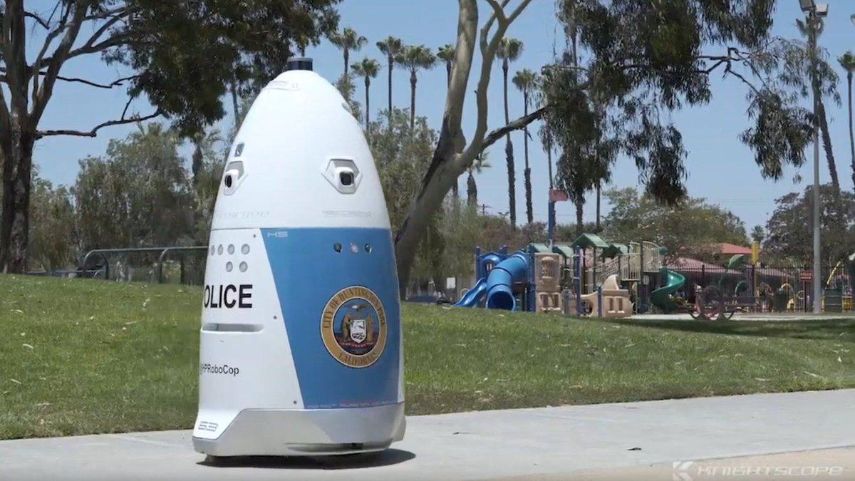 Los robots policía ya son algo de nuestra era, pero tienen sus fallos…
