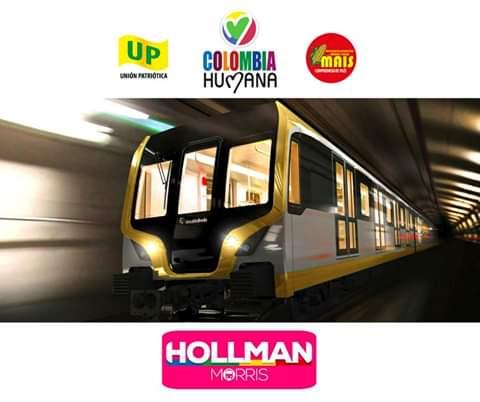 #HollmanAlcaldePorEs el único candidato que representa los interés de los Bogotanos Metro Subterráneo Educación gratuita y de calidad.Por el medio ambiente convirtiendo la RTVH en el bosque más grande de latinoamerica.#BogotaDecide