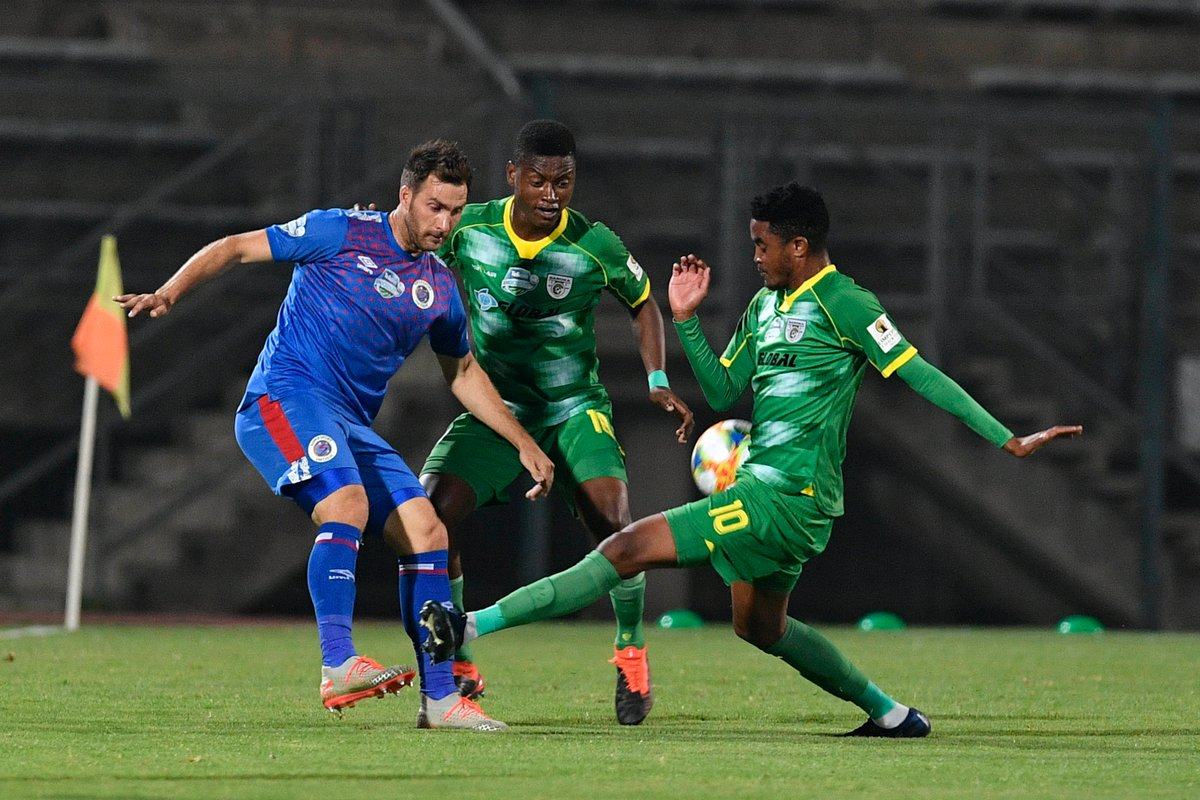 #TKO2019 - END OF 90 MINUTES: SuperSport United 1-1 Baroka FC Bradley Grobler has given Matsatsantsa a lifeline with a goal in injury time to force extra time at the Lucas Moripe Stadium.