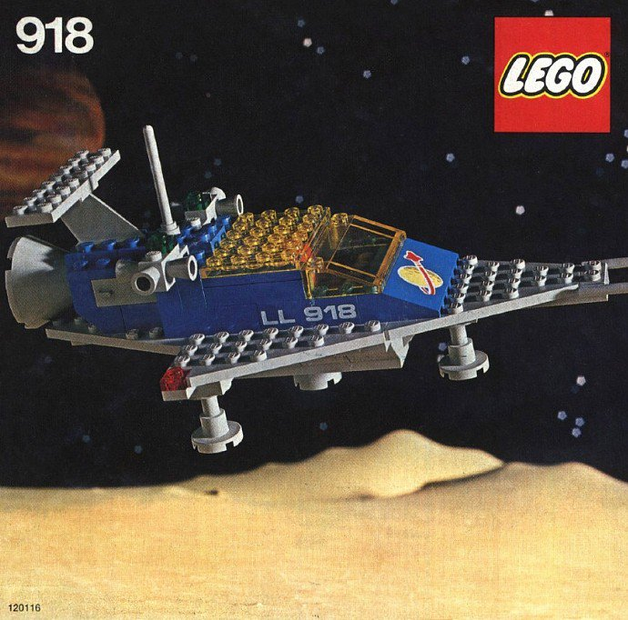 918-1: One Man Space Ship, 1979 #LEGO