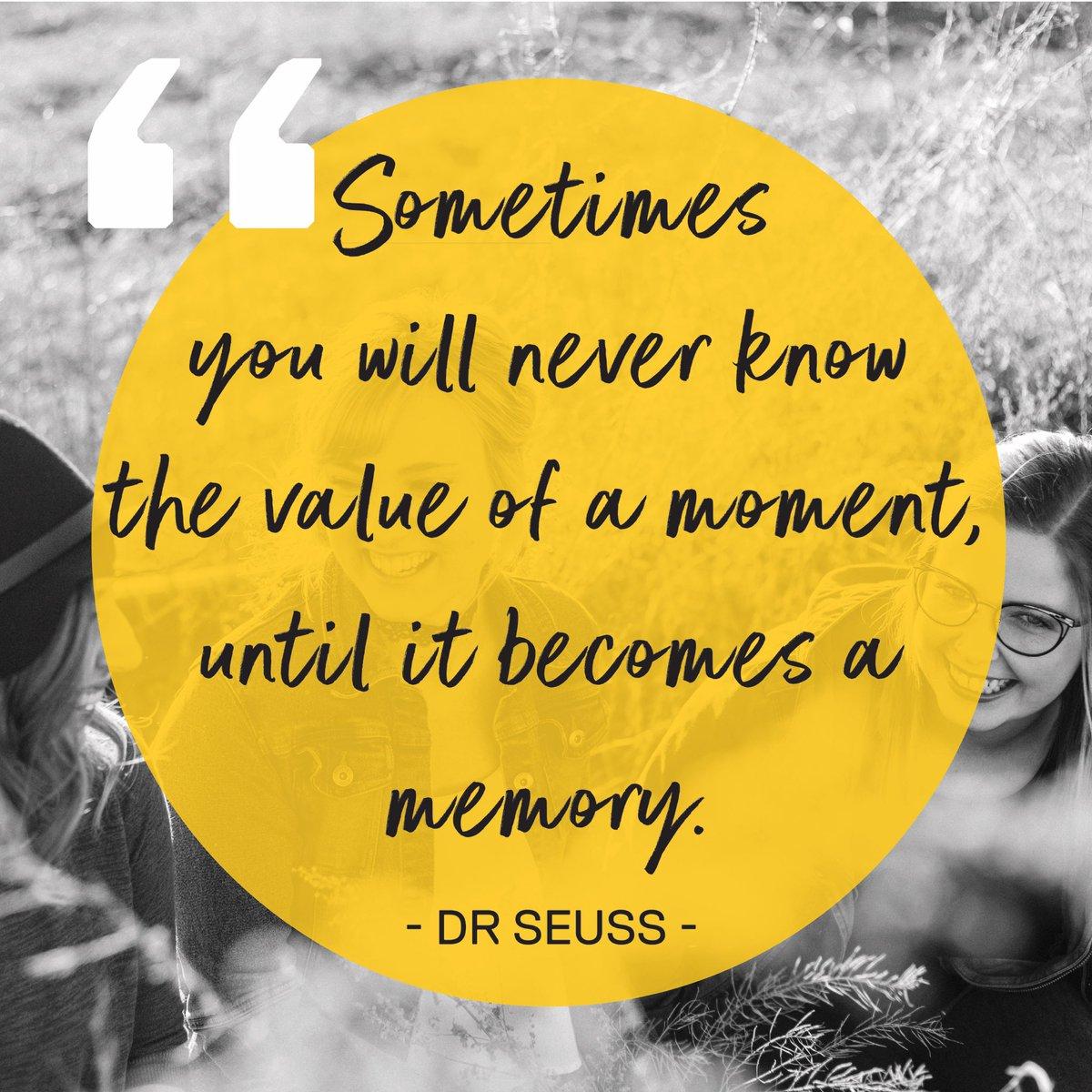 Cherishing moments.