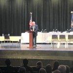 Image for the Tweet beginning: .@TraverseCity Mayor Jim Carruthers welcoming