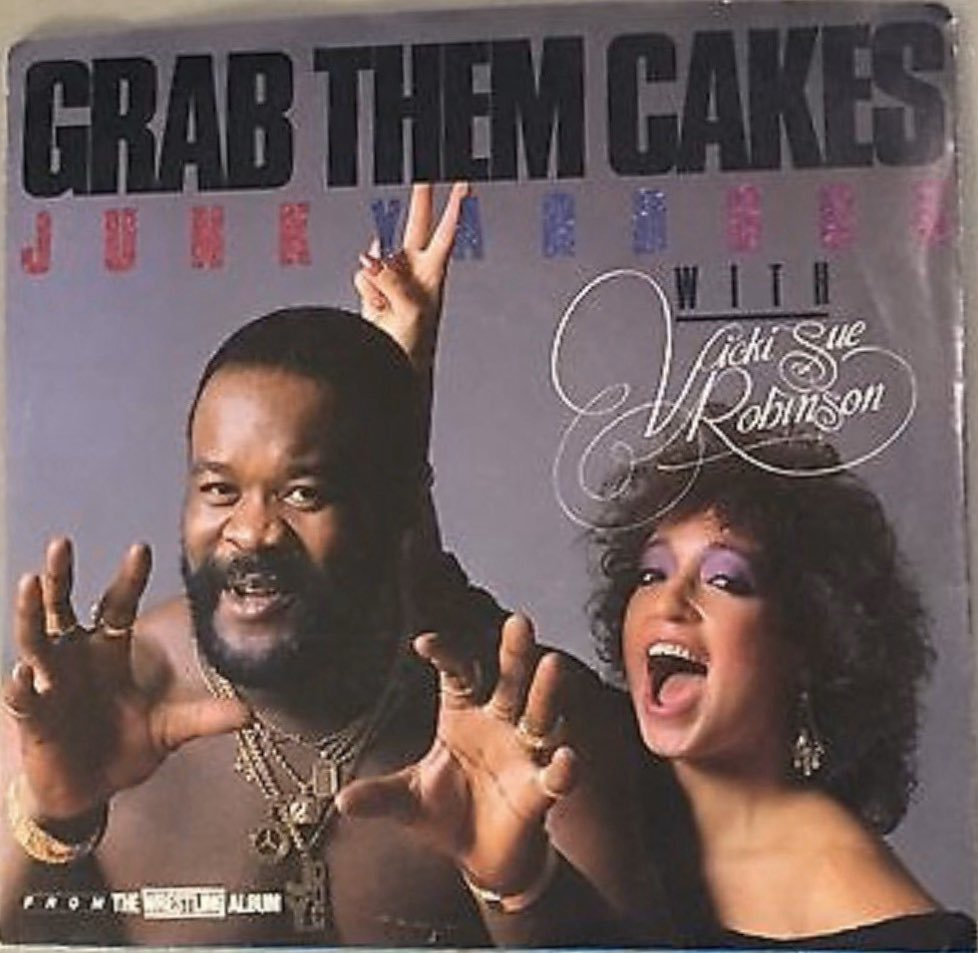 If you're looking for the cultural high point of the 80s, may I suggest the day Junkyard Dog recorded Grab Them Cakes? <br>http://pic.twitter.com/k4DX4B9Pm4