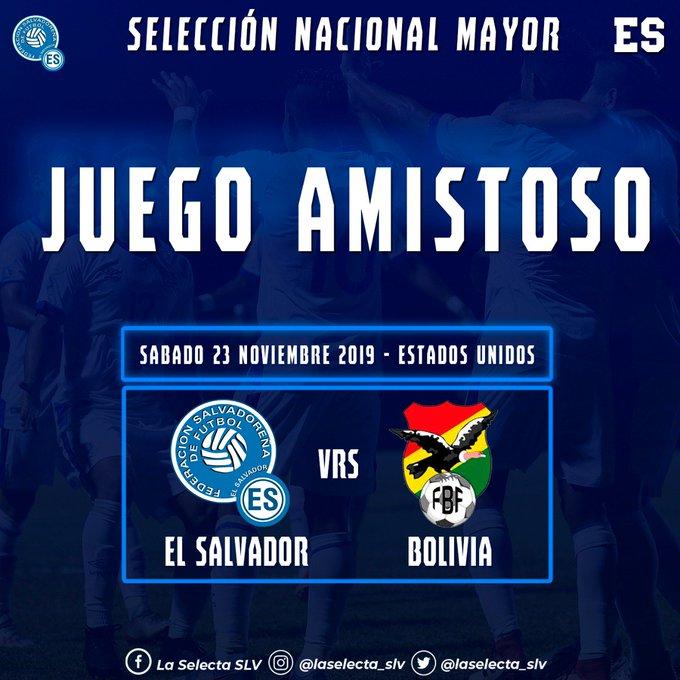 Juego amistoso contra Bolivia el sabado 23 de noviembre del 2019. [Cancelado]. EHRyuNyWsAAKbYO?format=jpg&name=small